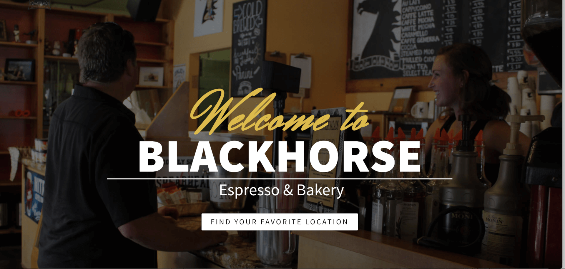 Welcome to BlackHorse Espresso and Bakery