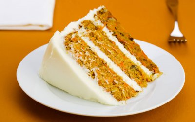 Uptown Cake commercial work carrot cake